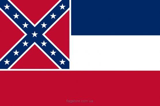 Купити прапор штату Міссісіпі