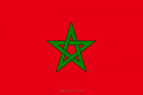 Купити прапор країни Марокко