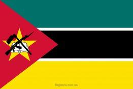 Купити прапор Мозамбіку (країни Мозамбік)