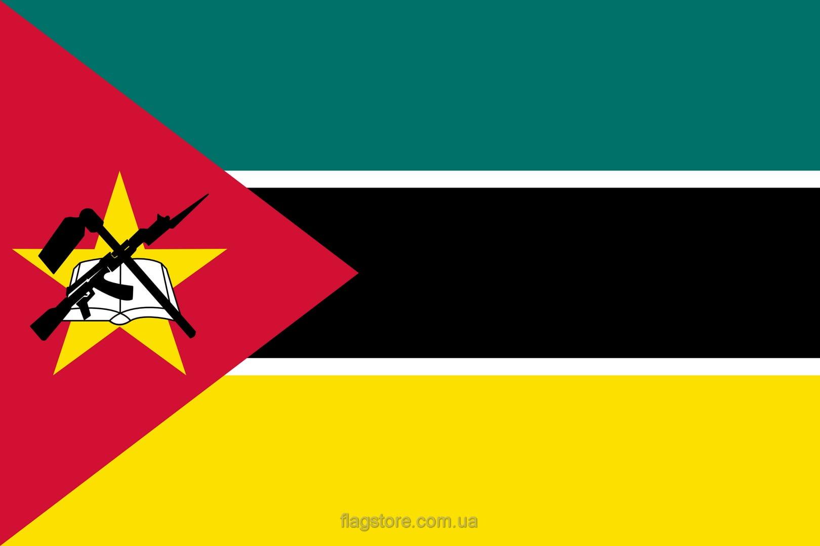 Купить флаг Мозамбика (страны Мозамбик)