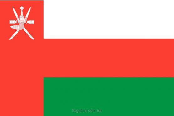 Купити прапор Оману (країни Оман)