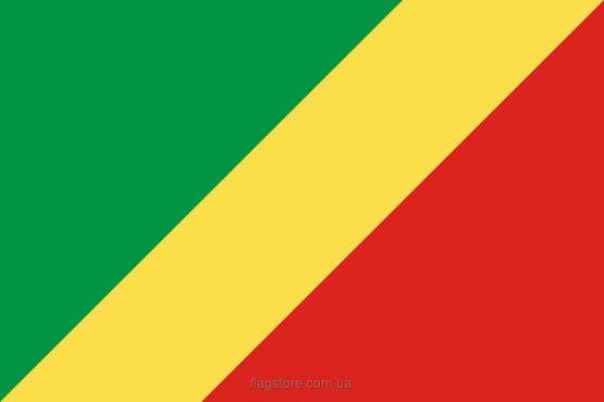 Купити прапор Республіки Конго (країни Республіка Конго)