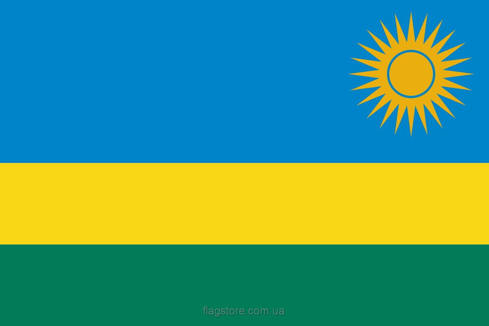 Купить флаг Руанды (страны Руанда)