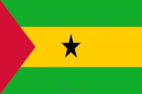 Купити прапор країни Сан-Томе і Принсіпі