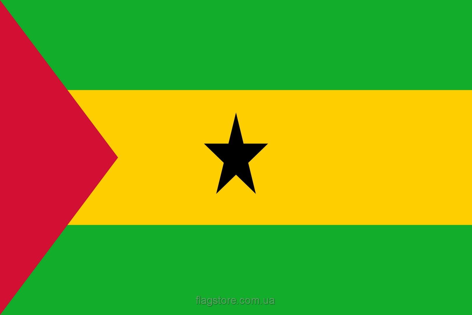 Купить флаг страны Сан-Томе и Принсипи