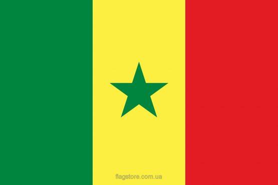 Купити прапор Сенегалу (країни Сенегал)