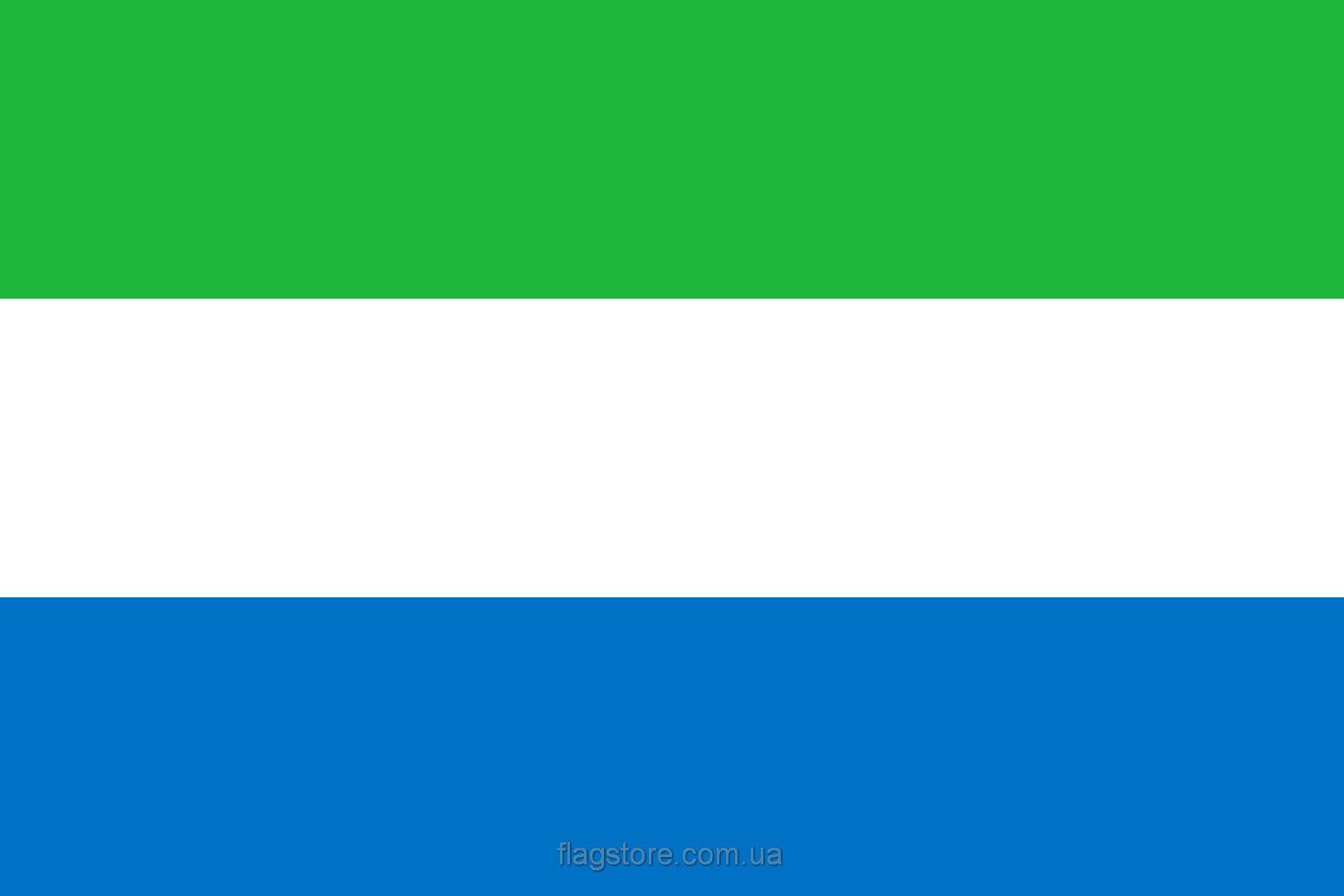 Купить флаг страны Сьерра-Леоне