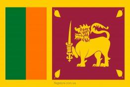 Купити прапор Шрі-Ланки (країни Шрі-Ланка)
