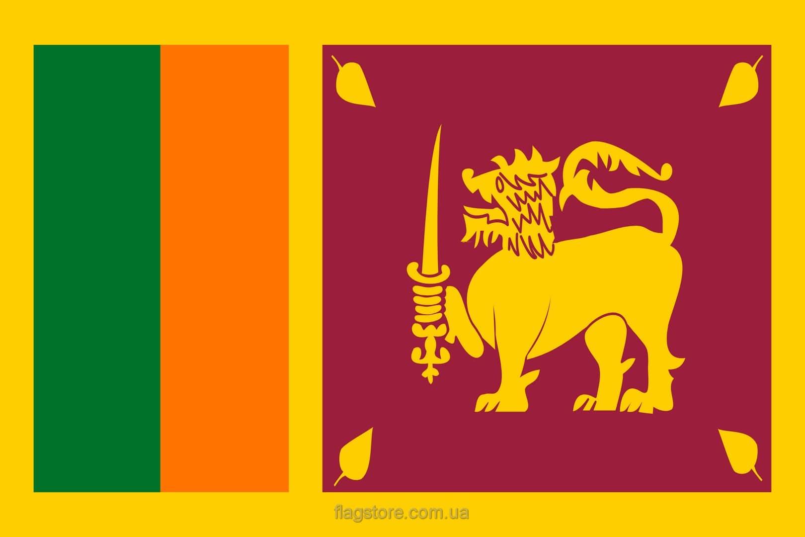 Купить флаг Шри-Ланки (страны Шри-Ланка)