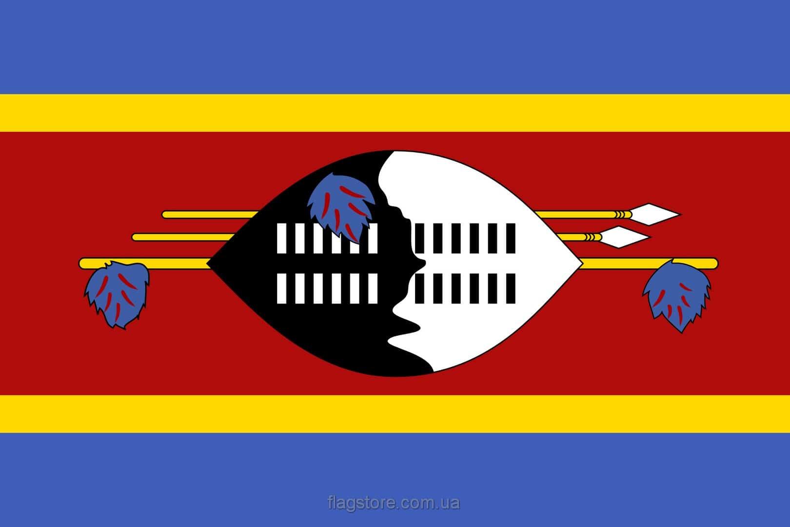 Купить флаг Свазиленда (страны Эсватини)