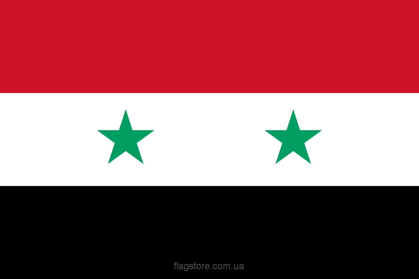 Купить флаг Сирии (страны Сирия)