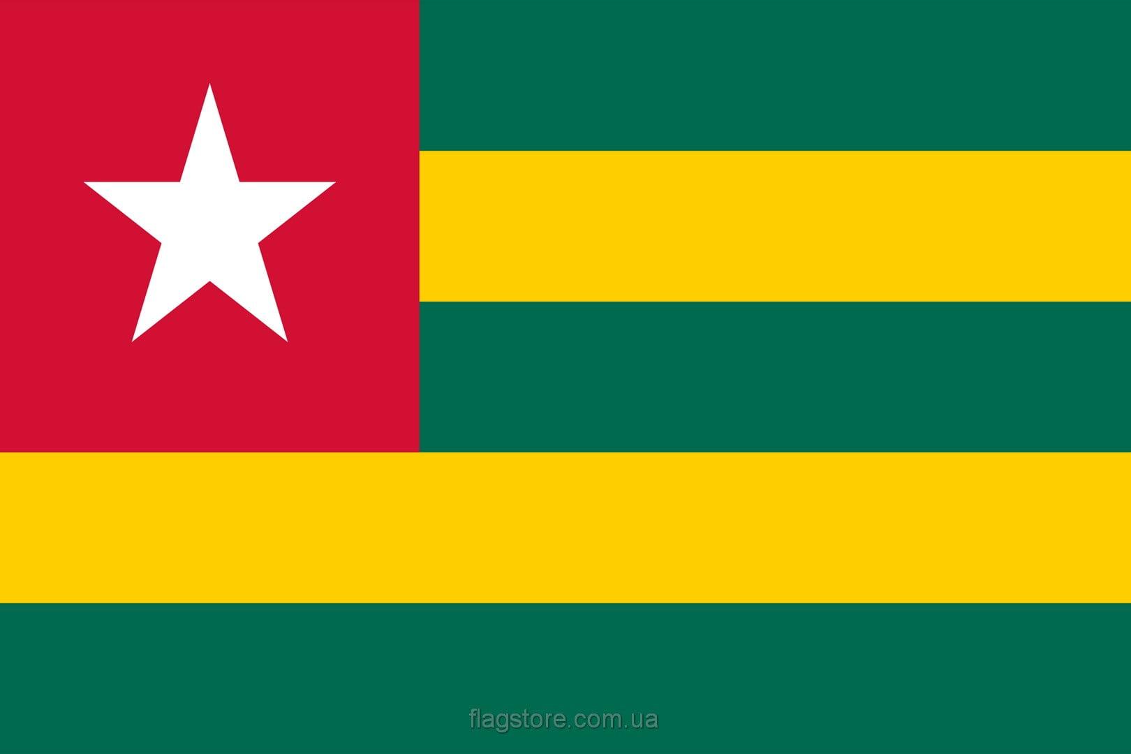 Купить флаг Того (страны Тоголезская Республика)