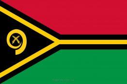 Купити прапор країни Вануату