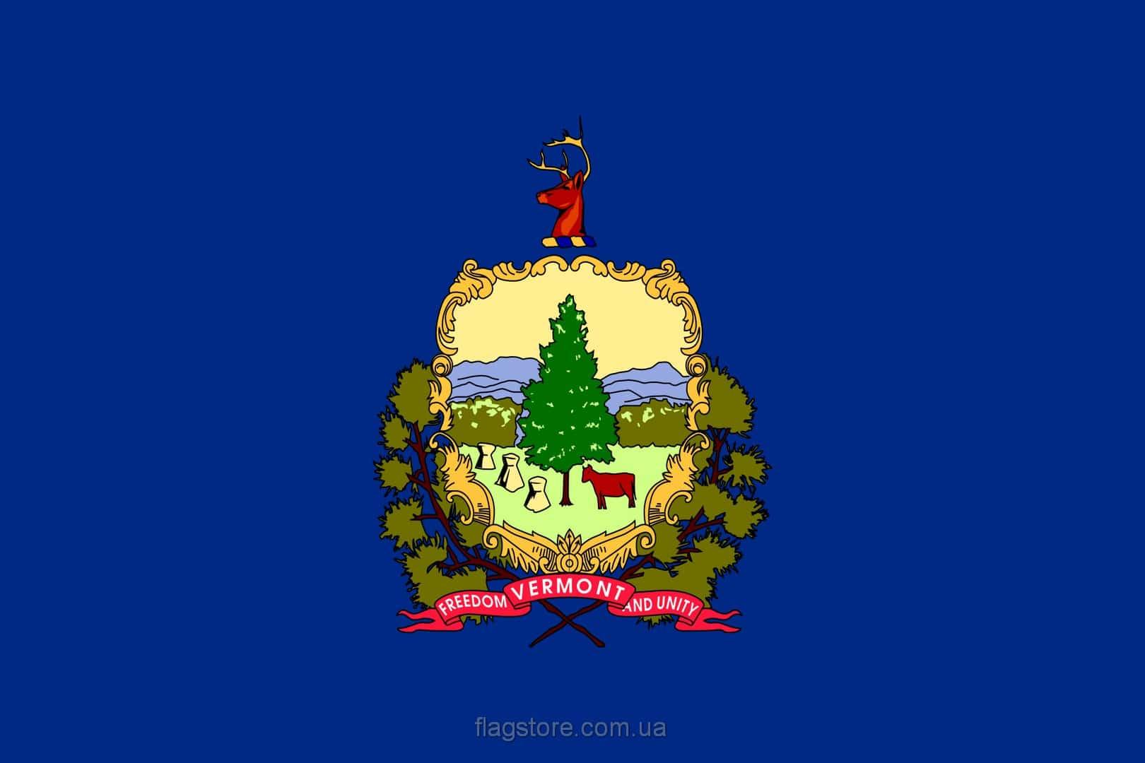Купить флаг Вермонта (штата Вермонт)