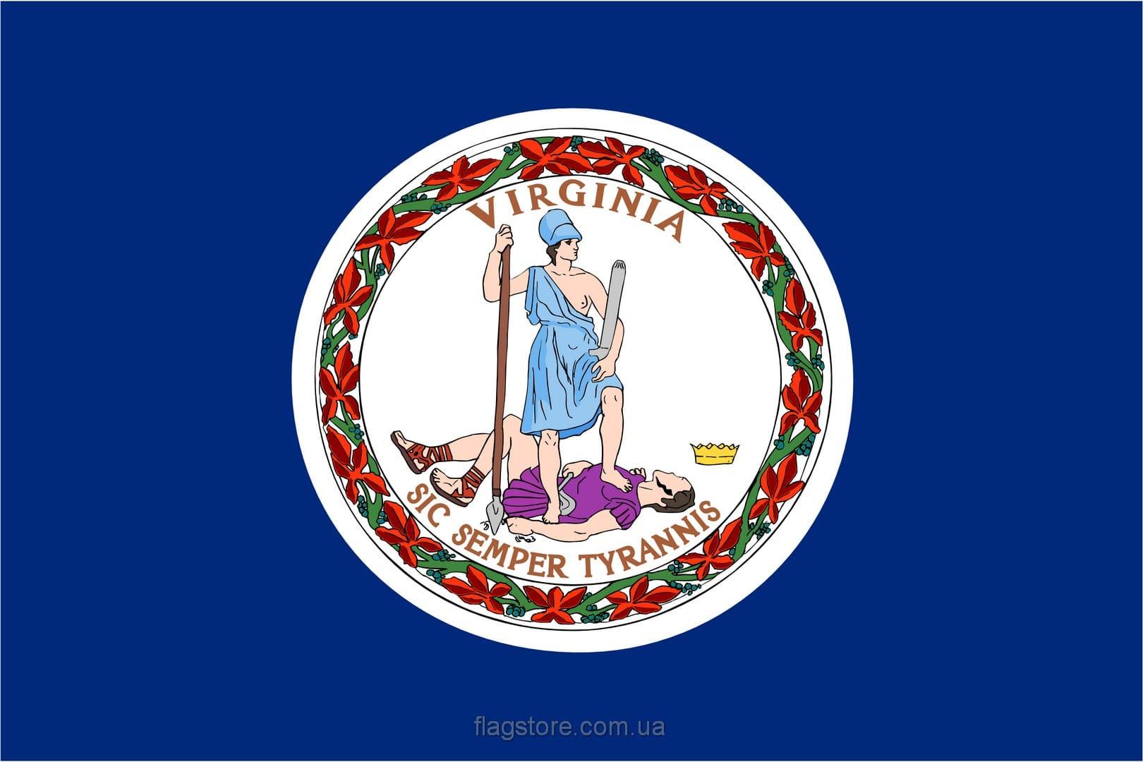 Купить флаг Виргинии (штата Виргиния)