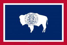 Купити прапор Вайомінґу (штату Вайомінґ)