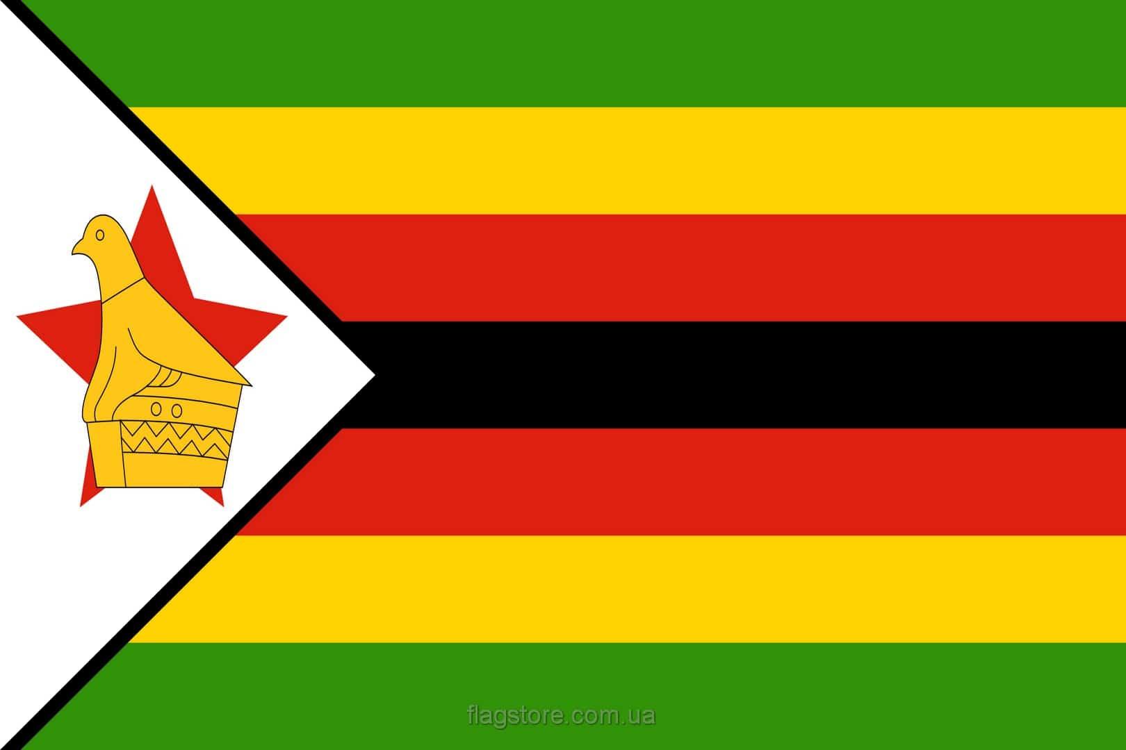 Купить флаг страны Зимбабве