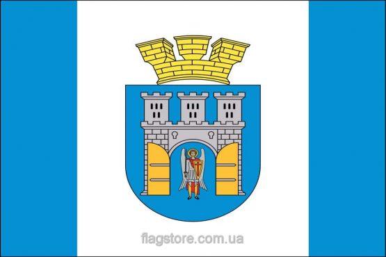 Купить флаг Ивано-Франковска (города Ивано-Франковск)