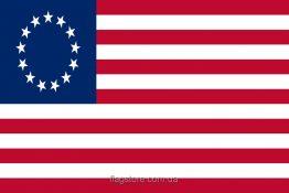 Купити старий прапор США 13 зірок