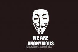 Купити прапор Анонимус we are anonymous