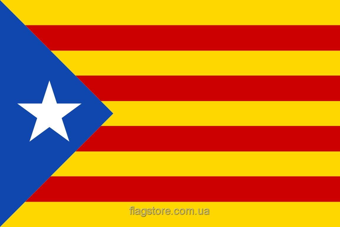 Купить флаг Каталонии