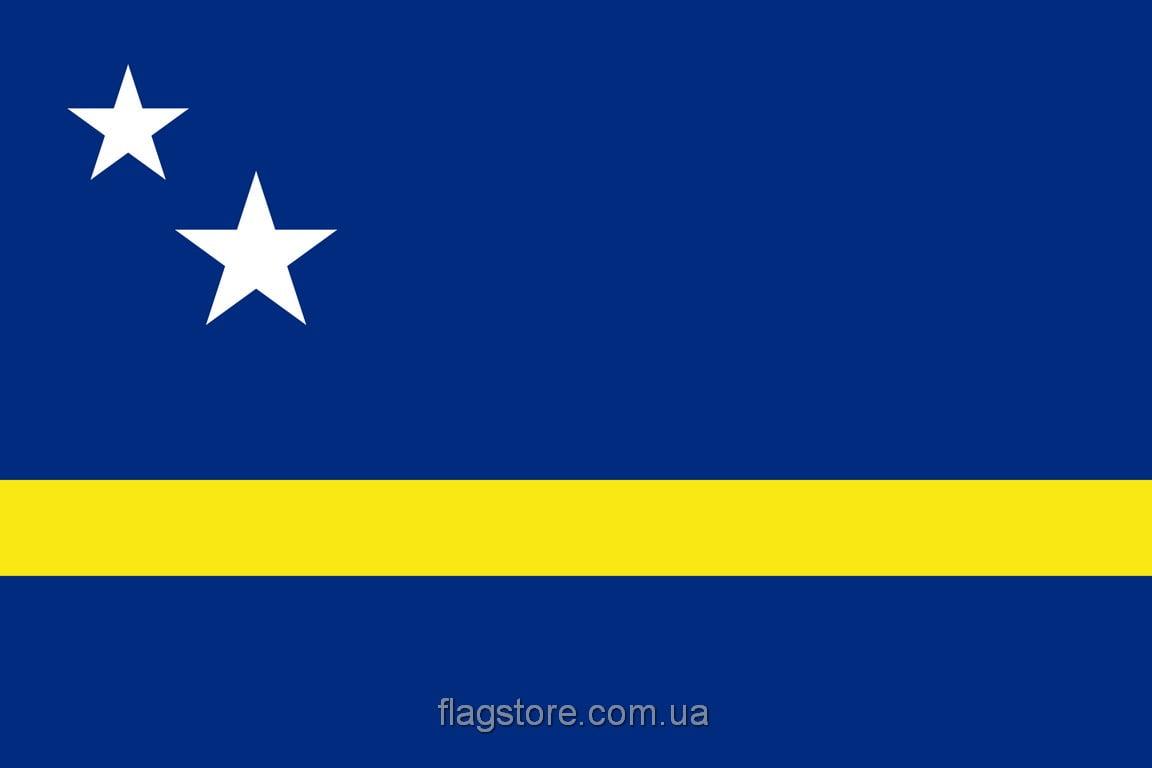 Купить флаг острова Кюросао