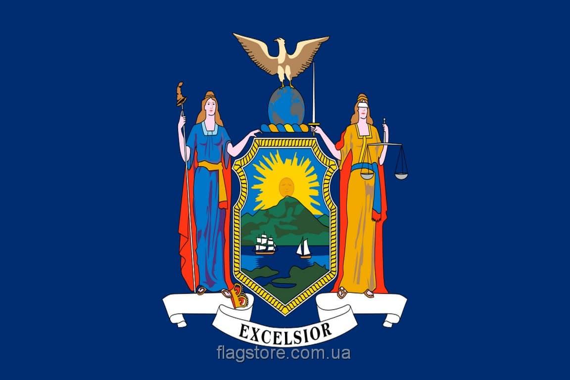 Купить флаг Нью-Йорка
