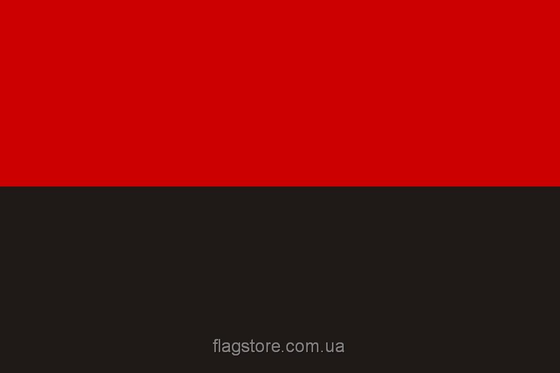 Купить красно-черный флаг ОУН-УПА