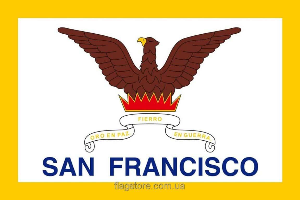 Купить флаг Сан-Франциско