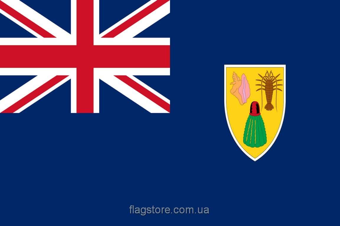 Купить флаг Теркса и Кайкоса