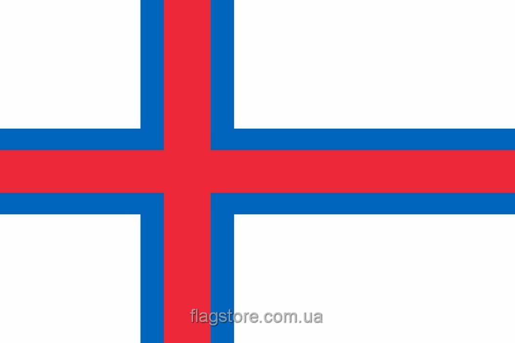 Купить флаг Фарерских островов