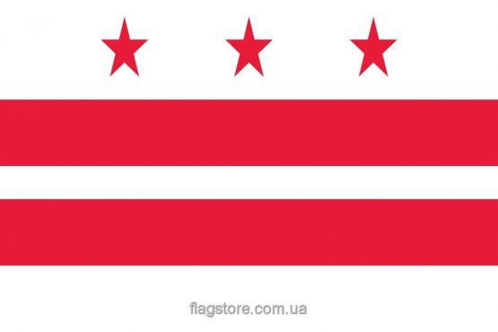Купити прапор міста Вашингтон (округ Колумбія)