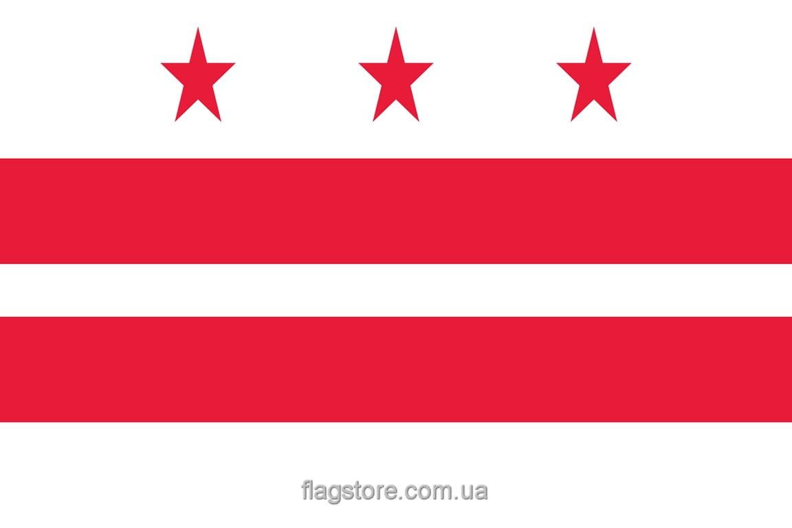 Купить флаг города Вашингтон (округ Колумбия)
