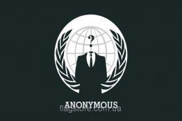 Купити прапор угруповання Анонімус