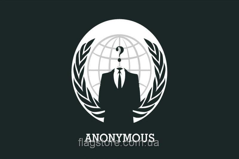 Купить флаг группировки Анонимус