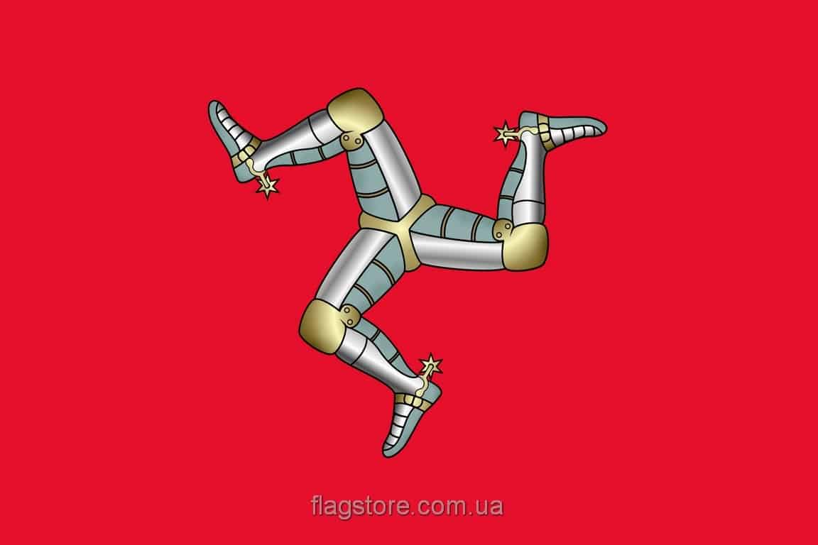 Купить флаг острова Мэн