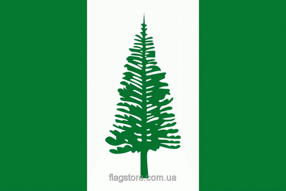 Купить флаг острова Норфолк
