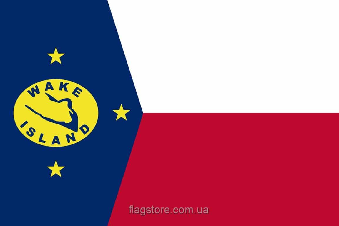 Купить флаг острова Уэйк
