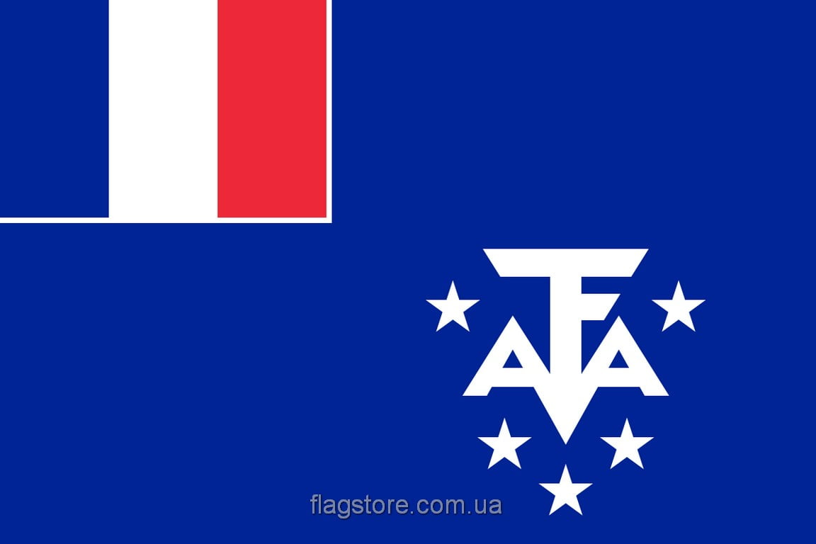 Купить флаг французских Южных и Антарктических территорий