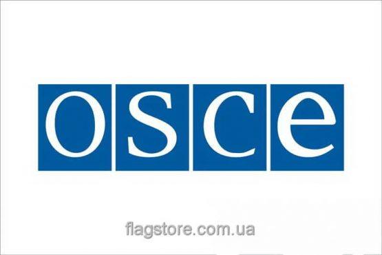Купити прапор ОБСЄ OSCE