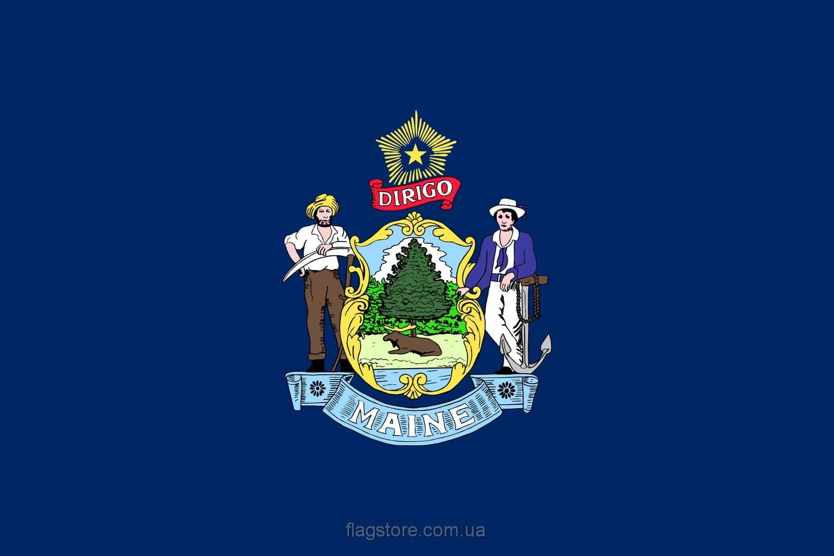 Купить флаг Мэна (штата Мэн)