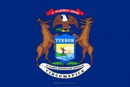 Купити прапор Мічигану (штату Мічиган)
