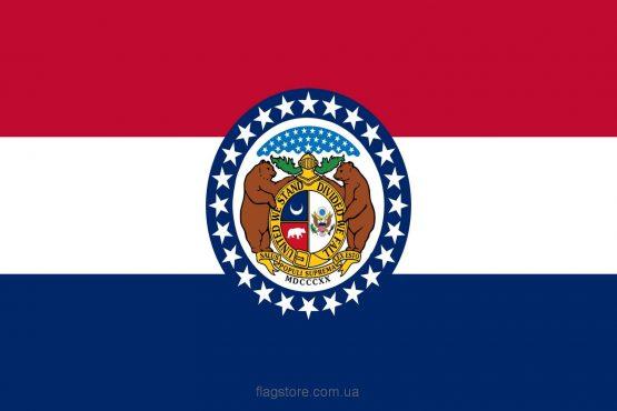 Купити прапор штату Міссурі