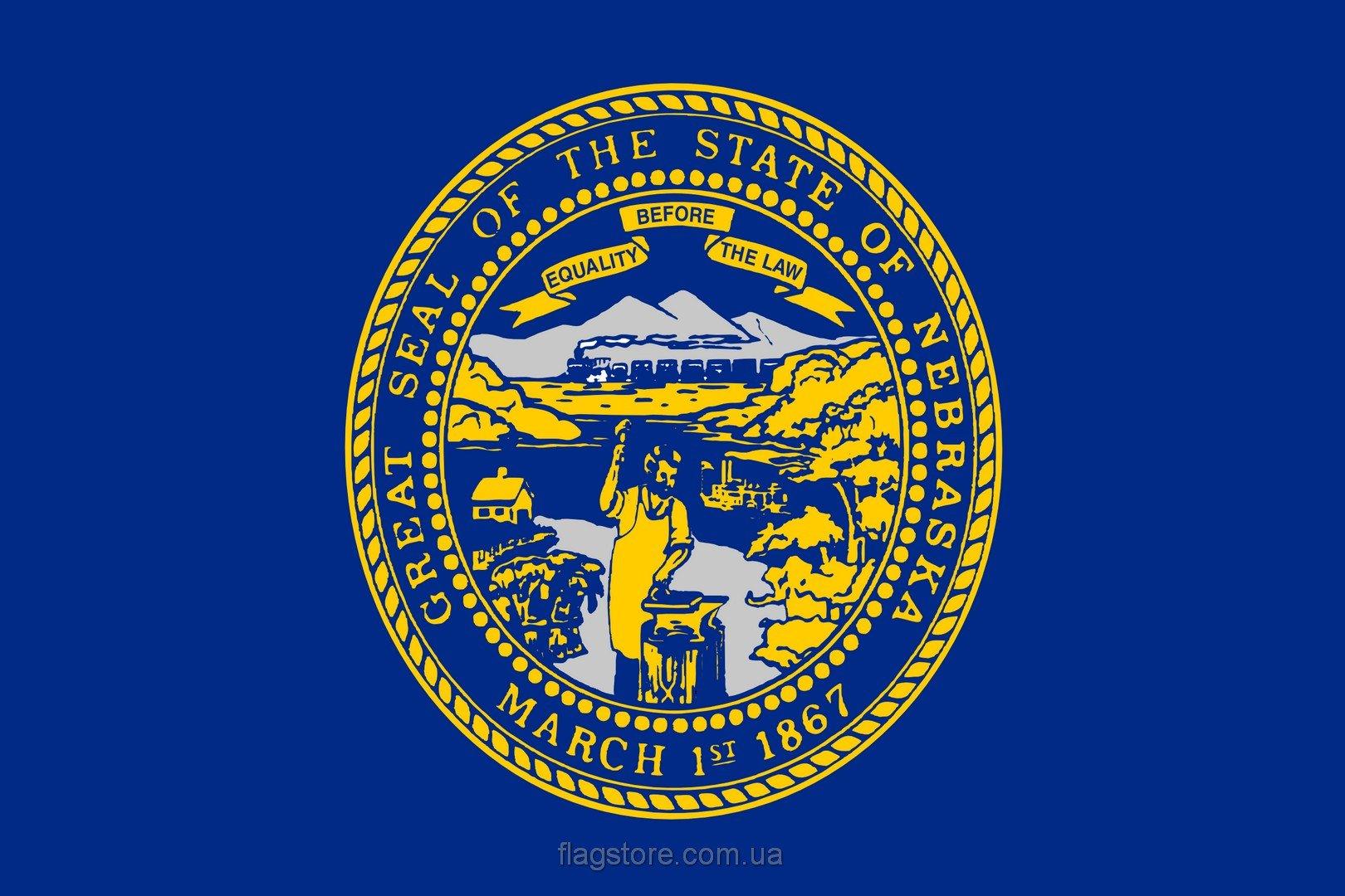 Купить флаг Небраски (штата Небраска)