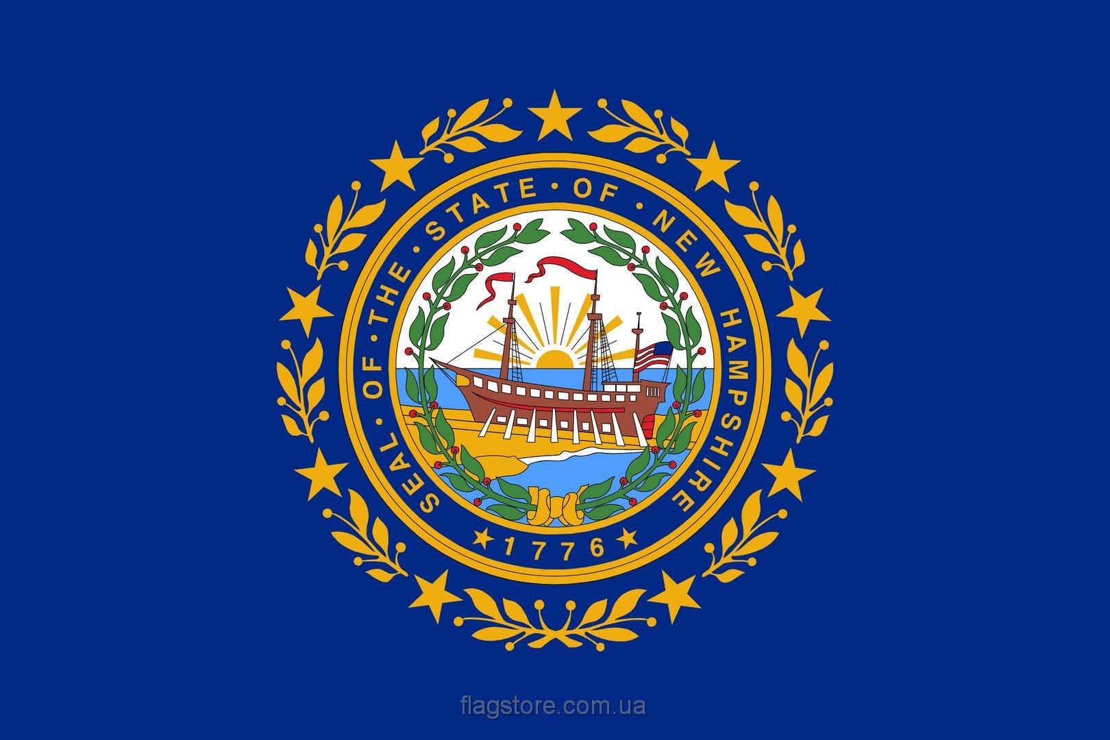 Купить флаг Нью-Гэмпшира (штата Нью-Гэмпшир)