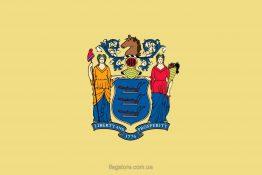 Купити прапор штату Нью-Джерсі
