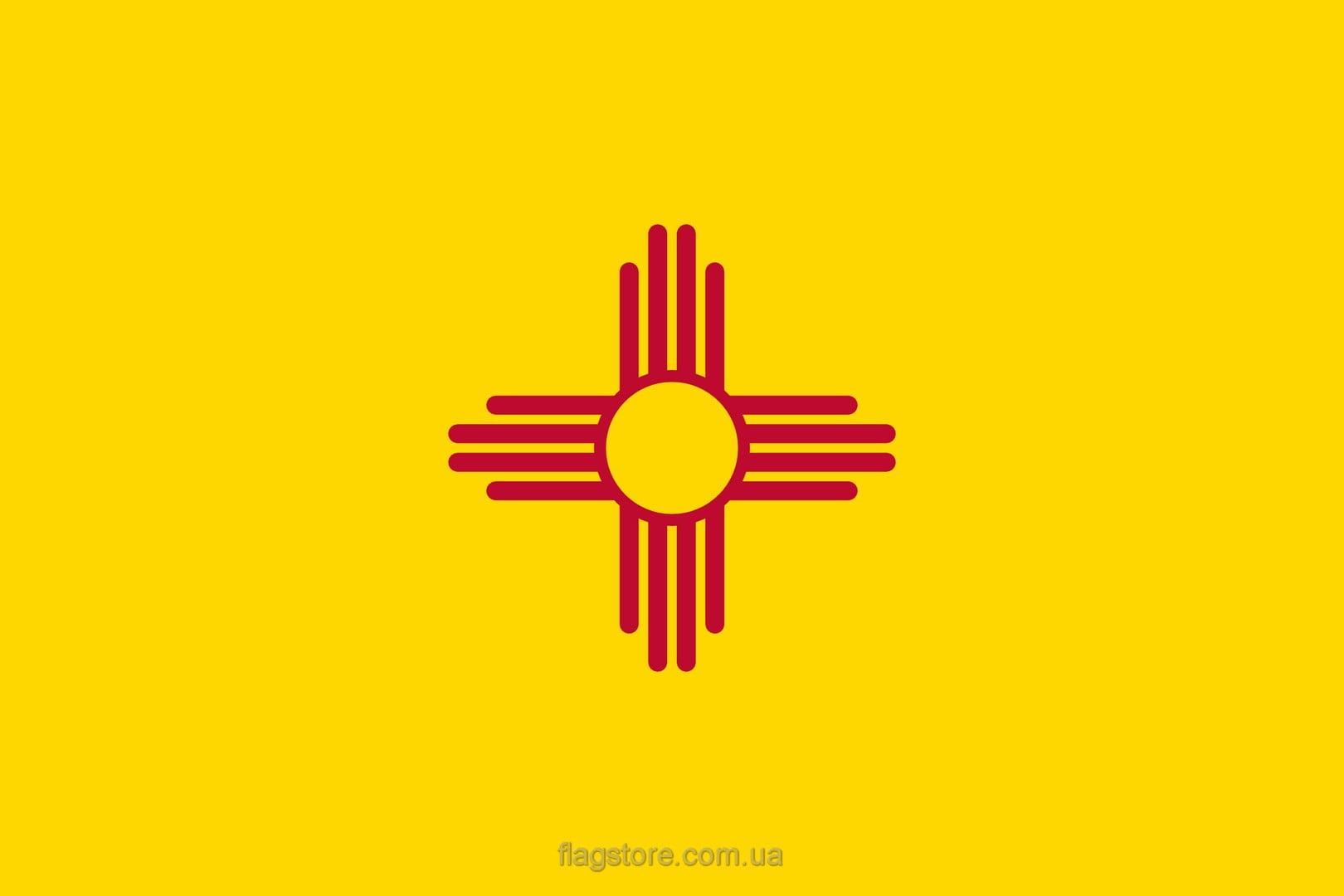 Купить флаг штата Нью-Мексико