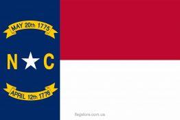 Купити прапор Північної Кароліни (штату Північна Кароліна)