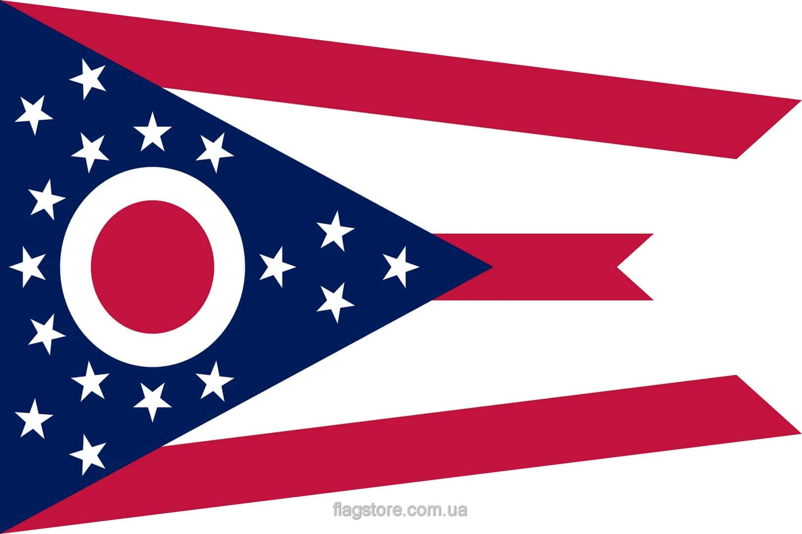 Купить флаг штата Огайо