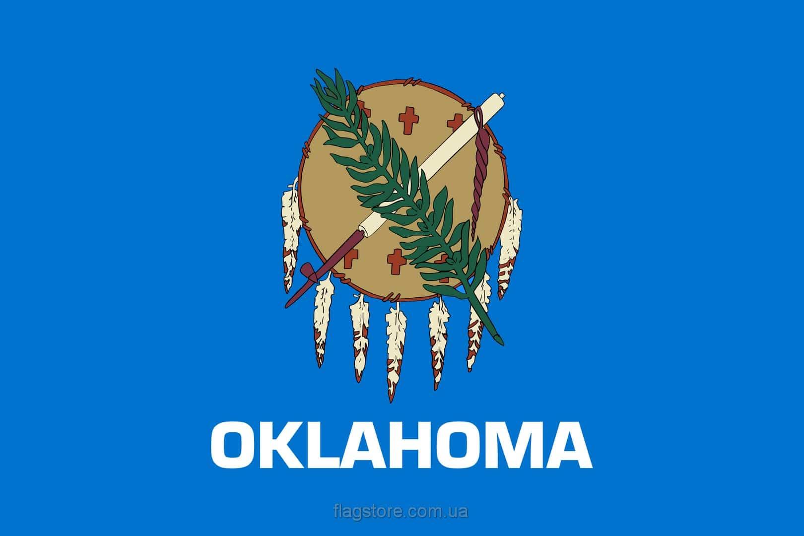 Купить флаг Оклахомы (штата Оклахома)
